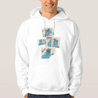 Cookie MonsterVintage Comic Panels 2 Hoodie