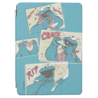 Cookie MonsterVintage Comic Panels iPad Air Cover
