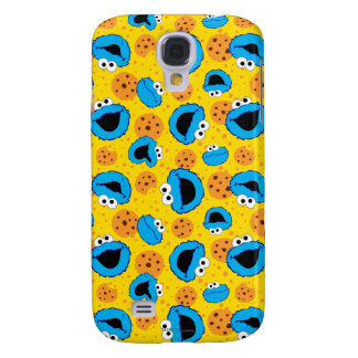 Cookie Monter and Cookies Pattern Galaxy S4 Case