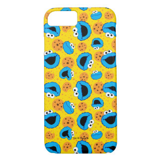 Cookie Monter and Cookies Pattern iPhone 8/7 Case