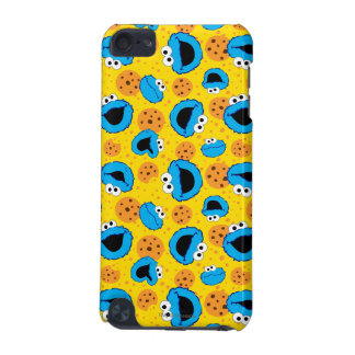 Cookie Monter and Cookies Pattern iPod Touch 5G Cases
