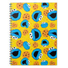 Cookie Monter and Cookies Pattern Notebook