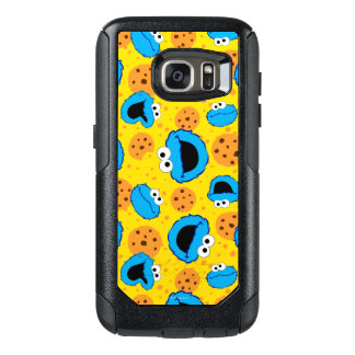 Cookie Monter and Cookies Pattern OtterBox Samsung Galaxy S7 Case