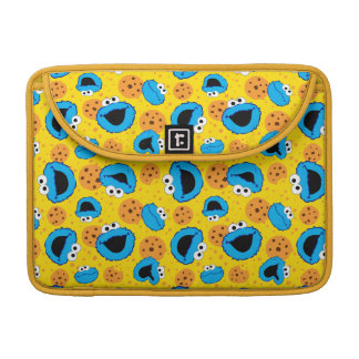 Cookie Monter and Cookies Pattern Sleeve For MacBook Pro