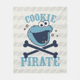 Cookie Pirate 2 Fleece Blanket