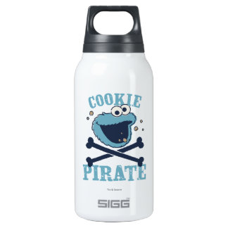 Cookie Pirate 2 Insulated Water Bottle