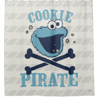 Cookie Pirate 2 Shower Curtain