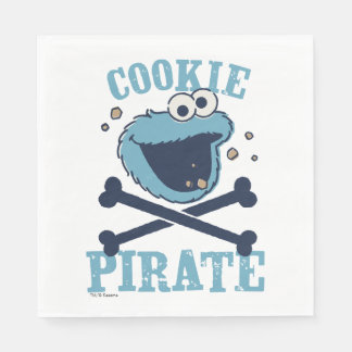 Cookie Pirate Disposable Napkins