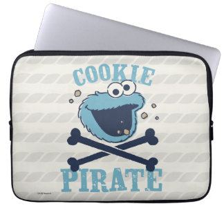 Cookie Pirate Laptop Sleeve
