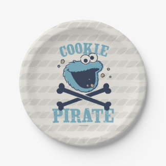Cookie Pirate Paper Plate