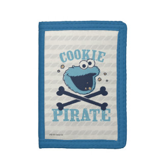 Cookie Pirate Tri-fold Wallet