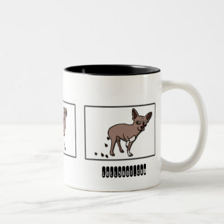 Cookie POOch Two-Tone Coffee Mug