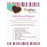 Cookie Price List Flyer