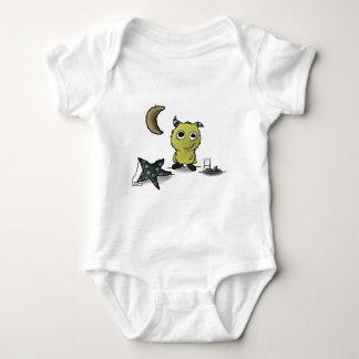 Cookie-Security Monster Art Baby Bodysuit