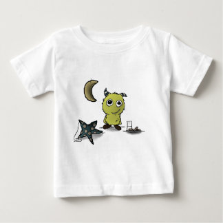 Cookie-Security Monster Art Baby T-Shirt