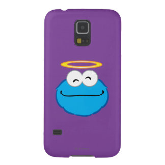 Cookie Smiling Face with Halo Galaxy S5 Covers