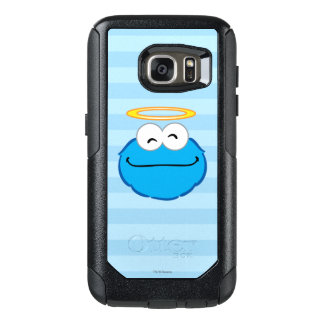 Cookie Smiling Face with Halo OtterBox Samsung Galaxy S7 Case