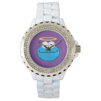 Cookie Smiling Face with Halo Wristwatches