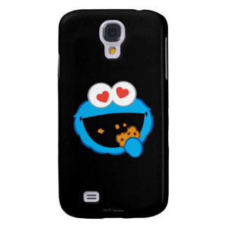 Cookie Smiling Face with Heart-Shaped Eyes Galaxy S4 Case