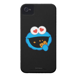 Cookie Smiling Face with Heart-Shaped Eyes iPhone 4 Cover
