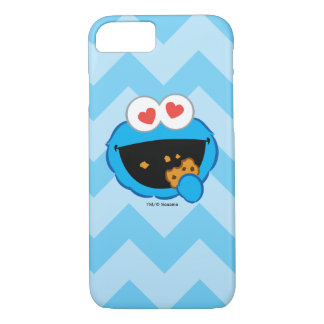Cookie Smiling Face with Heart-Shaped Eyes iPhone 8/7 Case