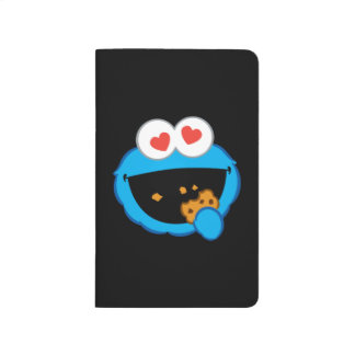Cookie Smiling Face with Heart-Shaped Eyes Journal