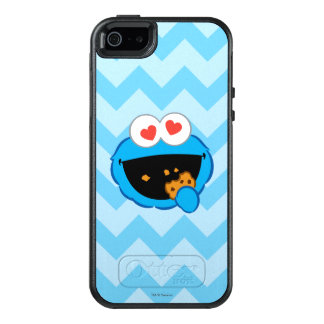 Cookie Smiling Face with Heart-Shaped Eyes OtterBox iPhone 5/5s/SE Case
