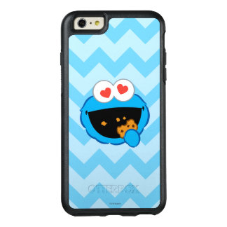 Cookie Smiling Face with Heart-Shaped Eyes OtterBox iPhone 6/6s Plus Case