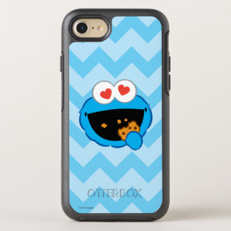 Cookie Smiling Face with Heart-Shaped Eyes OtterBox Symmetry iPhone 8/7 Case