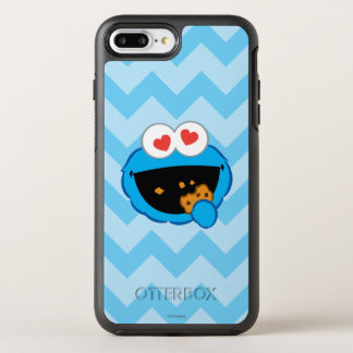 Cookie Smiling Face with Heart-Shaped Eyes OtterBox Symmetry iPhone 8 Plus/7 Plus Case