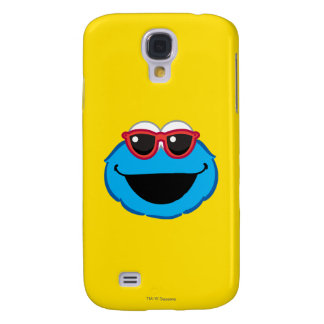 Cookie  Smiling Face with Sunglasses Galaxy S4 Case