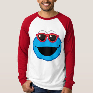 Cookie  Smiling Face with Sunglasses T-Shirt