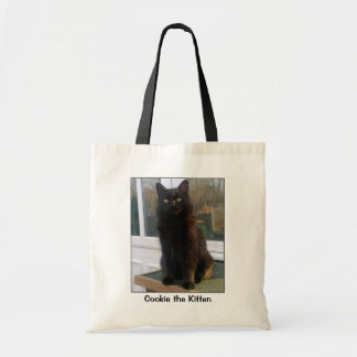 Cookie the Kitten Tote Bag