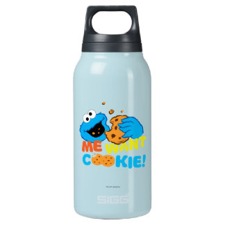 Cookie Wants Cookie Insulated Water Bottle