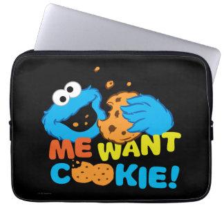 Cookie Wants Cookie Laptop Computer Sleeves