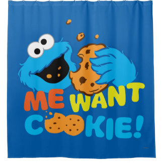 Cookie Wants Cookie Shower Curtain