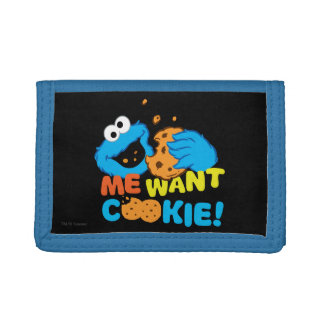 Cookie Wants Cookie Trifold Wallet