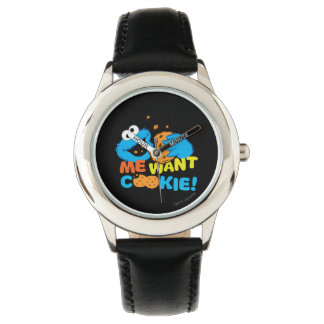 Cookie Wants Cookie Wrist Watch