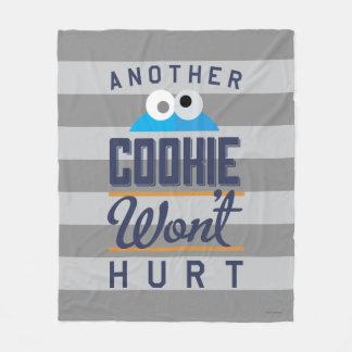 Cookie Won't Hurt Fleece Blanket