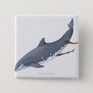 Cookiecutter Sharks 15 Cm Square Badge