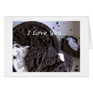 cookielove greeting card