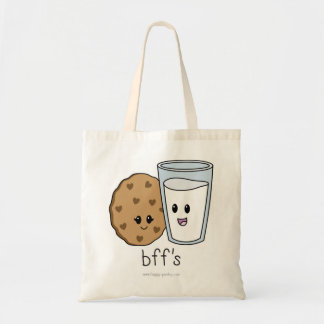 Cookies and Milk BFF's Tote Bag