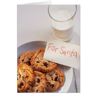 Cookies and Milk Card