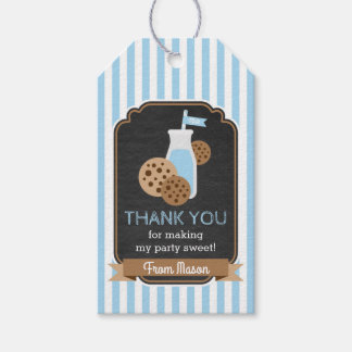 Cookies and Milk Favor Tag