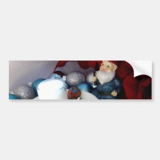 Cookies and Milk Gnome II Bumper Sticker