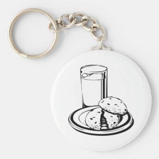 Cookies and Milk Keychain