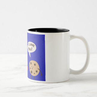 Cookies and milk love-Two-Tone Mug