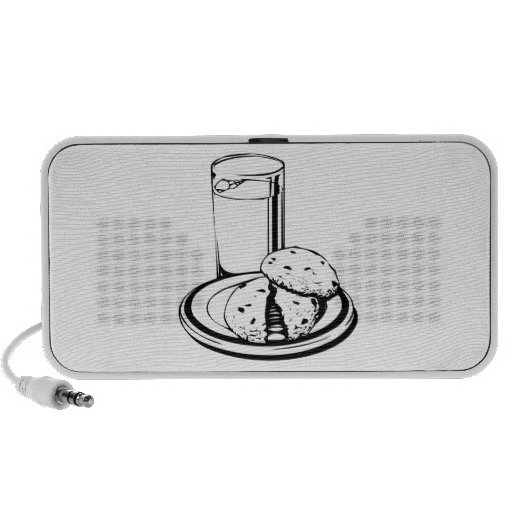Cookies and Milk Travel Speaker