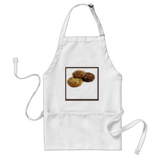Cookies and Other Delicious Desserts on White Standard Apron