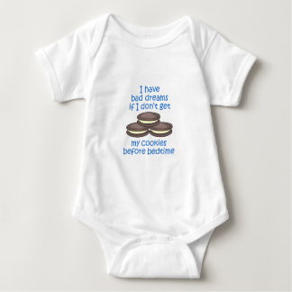 Cookies Before Bedtime Baby Bodysuit